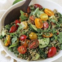Pesto Tabbouleh Summer Salad