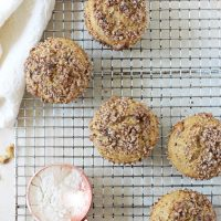 Banana Bread Quinoa Muffins