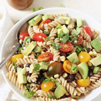 Vegetable Taco Pasta Salad