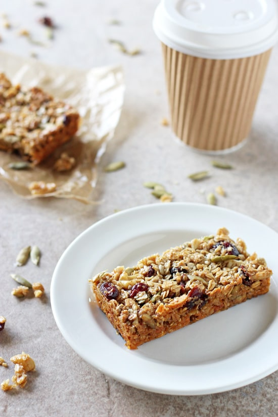 Chewy Fruit & Nut Granola Bars - Cook Nourish Bliss