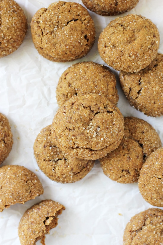 Easy and irresistible soft & chewy whole wheat pumpkin cookies! Made with pumpkin puree, coconut oil and coconut sugar! Dairy free and delicious!