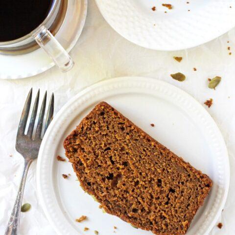 Pumpkin Olive Oil Bread