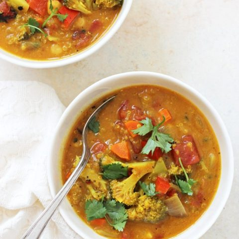 Turmeric Quinoa Vegetable Soup