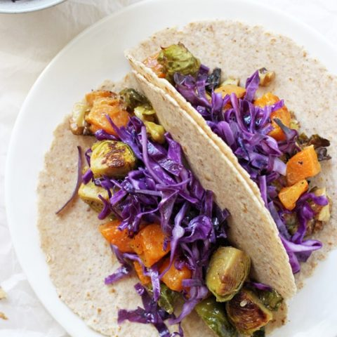 Roasted Winter Vegetable Tacos