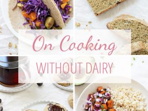 Need to ditch the dairy? Let's talk about the best whole food substitutes (including options for cheese, milk & butter!), my favorite store-bought products & tips for going dairy free!