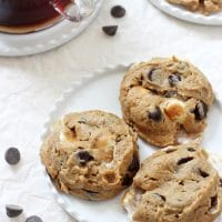 Flourless Peanut Butter S'mores Cookies
