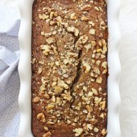 Orange Poppy Seed Zucchini Bread