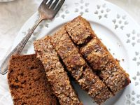 This delightful healthy spiced sweet potato bread is super easy to make! And is packed with wholesome ingredients like sweet potato puree, whole wheat flour, coconut buttermilk and warm spices! Dairy free!