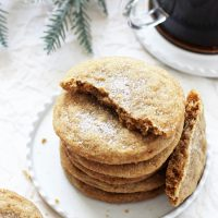 Soft & Chewy Cardamom Spice Cookies
