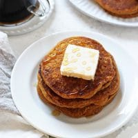 Vegan Sweet Potato Pancakes