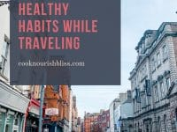 Let's talk 5 ideas for maintaining healthy habits while traveling. From shifting your mindset to doing a little advance research, these tips and strategies can help you feel your best while on vacation!