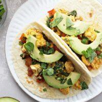 Healthy Breakfast Tacos