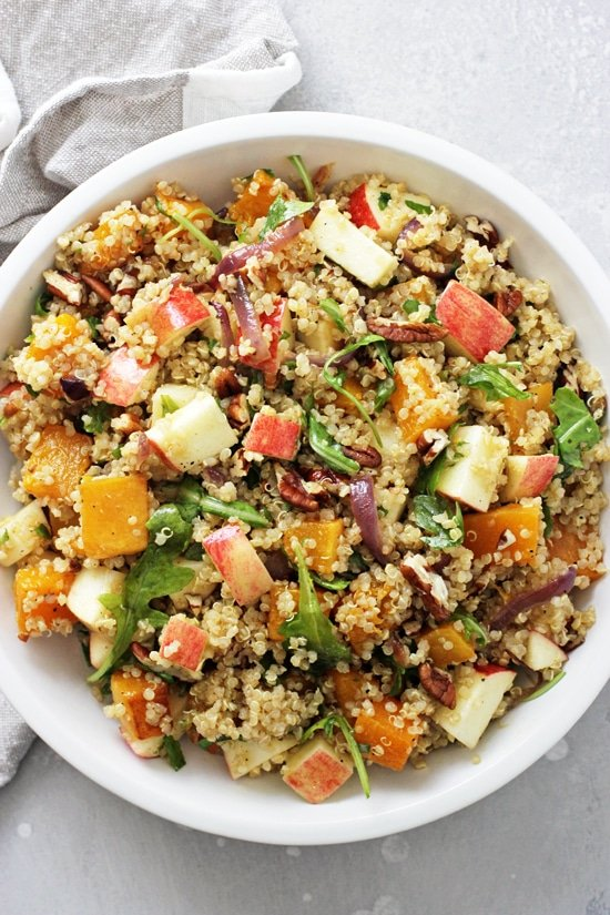 Fall Quinoa Salad Cook Nourish Bliss