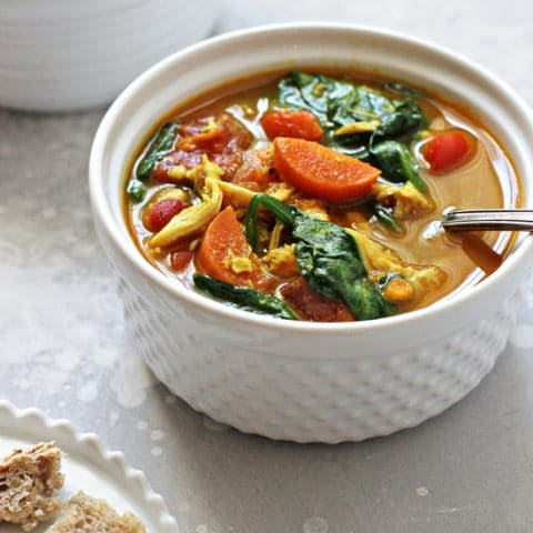 Sweet Potato Chicken Soup