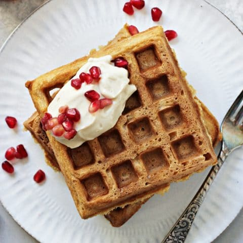 Classic Dairy Free Waffles