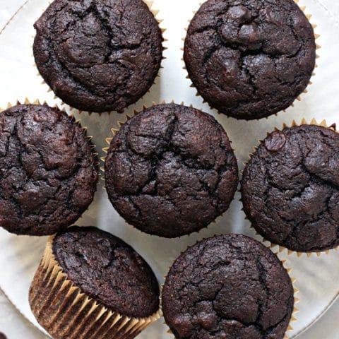 Dairy Free Chocolate Muffins